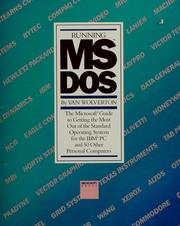 Cover of: Running MS-DOS by Van Wolverton