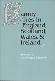 Cover of: Family ties in England, Scotland, Wales & Ireland | Judith P. Reid