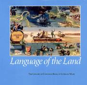 Cover of: Language of the land