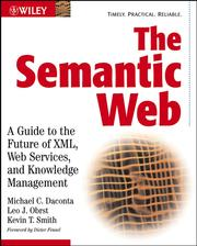 Cover of: The Semantic Web |