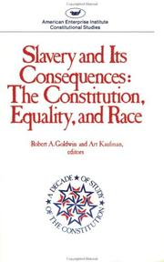 Slavery and its consequences