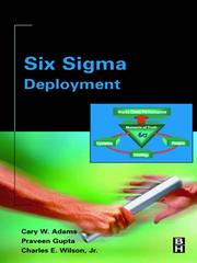 Cover of: Six Sigma Deployment |