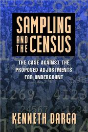 Cover of: Sampling and the Census | Kenneth Darga