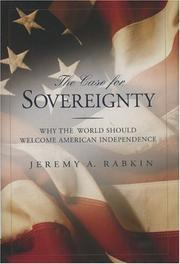 Cover of: The Case for Sovereignty