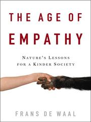 Cover of: The Age of Empathy by Frans de Waal