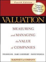 Cover of: Valuation | Tim Koller