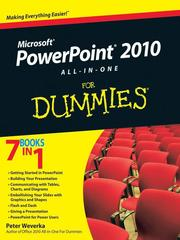 Cover of: PowerPoint 2010 All-in-One For Dummies |