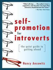 Cover of: Self-Promotion for Introverts |