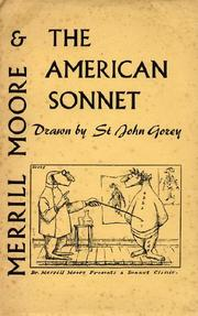Cover of: Merrill Moore and the American sonnet. | Edward Gorey