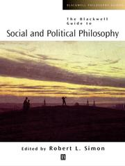 Cover of: The Blackwell Guide to Social and Political Philosophy |