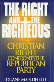 Cover of: The right and the righteous
