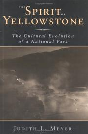Cover of: The spirit of Yellowstone