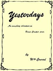 Cover of: Yesterdays |