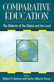 Cover of: Comparative Education |