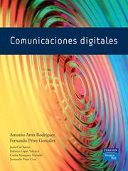 Cover of: Comunicaciones digitales by Antonio Artes Rodriguez