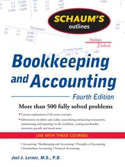 Cover of: Bookkeeping and Accounting |