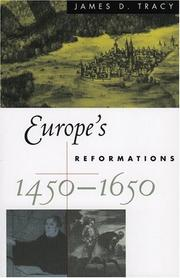 Cover of: Europe's reformations, 1450-1650