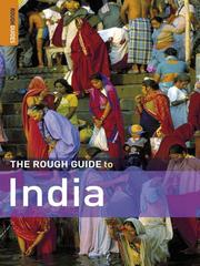 Cover of: The Rough Guide to India |