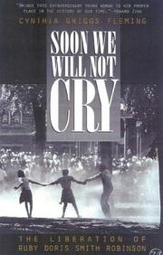 Cover of: Soon We Will Not Cry