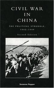 Civil War in China by Suzanne Pepper
