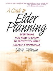 Cover of: A Guide to Elder Planning |
