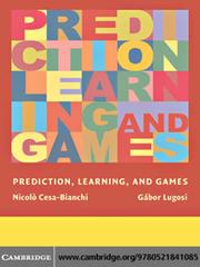 Cover of: Prediction, Learning, and Games |