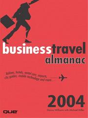 Cover of: The Business Travel Almanac |