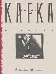 Cover of: The Diaries of Franz Kafka |