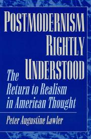 Cover of: Postmodernism rightly understood