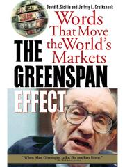 Cover of: The Greenspan Effect |