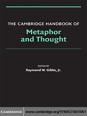 Cover of: The Cambridge Handbook of Metaphor and Thought |