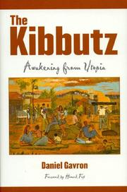 Cover of: The Kibbutz