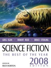Cover of: SCIENCE FICTION: The Best of the Year |