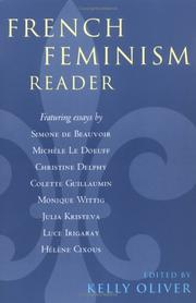 Cover of: French Feminism Reader