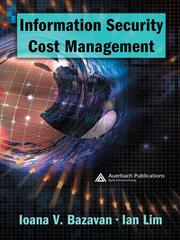 Cover of: Information Security Cost Management