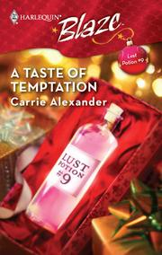 Cover of: A Taste of Temptation |