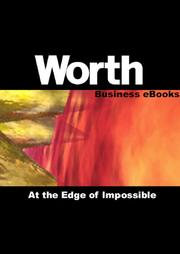 Cover of: Worth Business eBooks: At the Edge of Impossible |