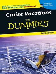 Cover of: Cruise Vacations For Dummies 2006 |