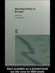 Cover of: Housing Policy in Europe |