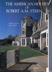 Cover of: The American houses of Robert A.M. Stern