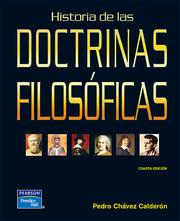 Cover of: Historia de las DOCTRINAS FILOSOFICAS by