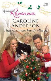 Cover of: Their Christmas Family Miracle |