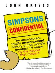 Cover of: Simpsons Confidential |