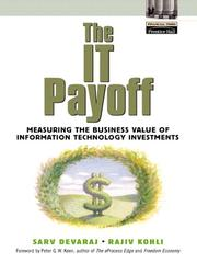 Cover of: The IT Payoff |