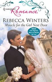Cover of: Miracle for the Girl Next Door |