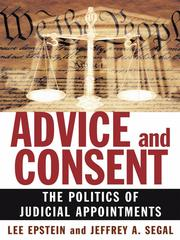 Cover of: Advice and Consent