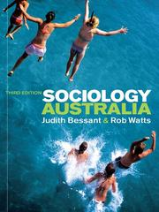 Cover of: Sociology Australia |