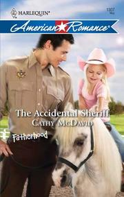 Cover of: The Accidental Sheriff |