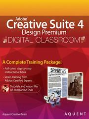 Cover of: Adobe Creative Suite 4 Design Premium Digital Classroom |