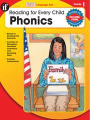 Cover of: Phonics, Grade 1 |
